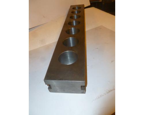 Планка для инструмента к станку БГ-50Р