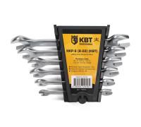 Набор гаечных рожковых ключей НКР-6 (8-22) (КВТ)
