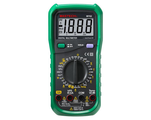 Мультиметр цифровой МY62 (Mastech)
