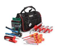 Набор инструментов электрика НИЭ-02 (КВТ)