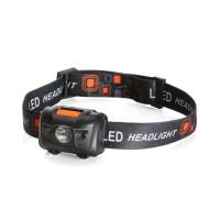 Фонарик налобный светодиодный HL-9023 (КВТ)