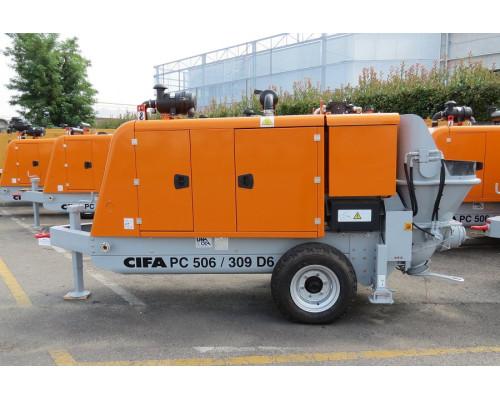 Стационарный бетононасос Cifa PC 506/309